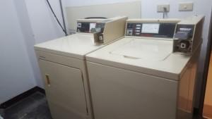 提供投幣式洗衣機和烘乾機,方便清洗個人衣物。自備洗衣粉,投入2枚10元硬幣。烘乾機:投入1枚10元硬幣,可使用約20分鐘。