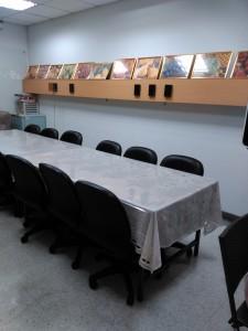 提供一個獨立的空間可做為 : 家庭會議、個案討論、病人及家屬會談…等。